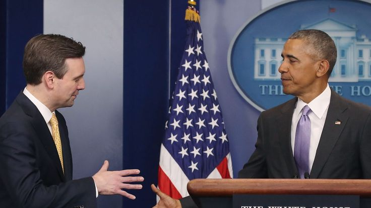 Former Obama press secretary Josh Earnest has a new job. Care to guess where?