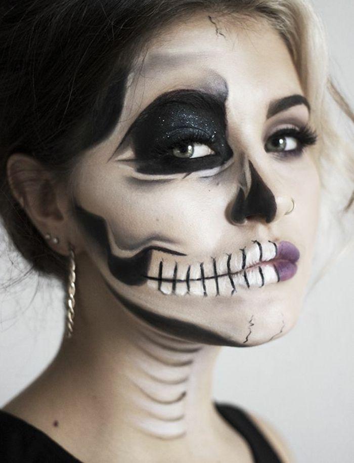 Halloween Schminkideen für Damen: So erschrecken Sie richtig!