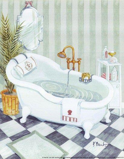 Bath tub paul brent