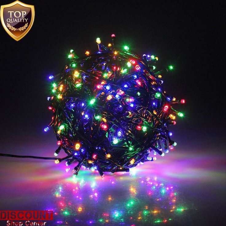 outdoor led christmas lights 300 multicolor battery fairy string tree waterproof - Led Multicolor Christmas Lights