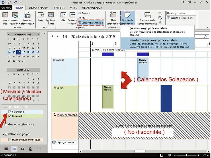Calendario de grupos