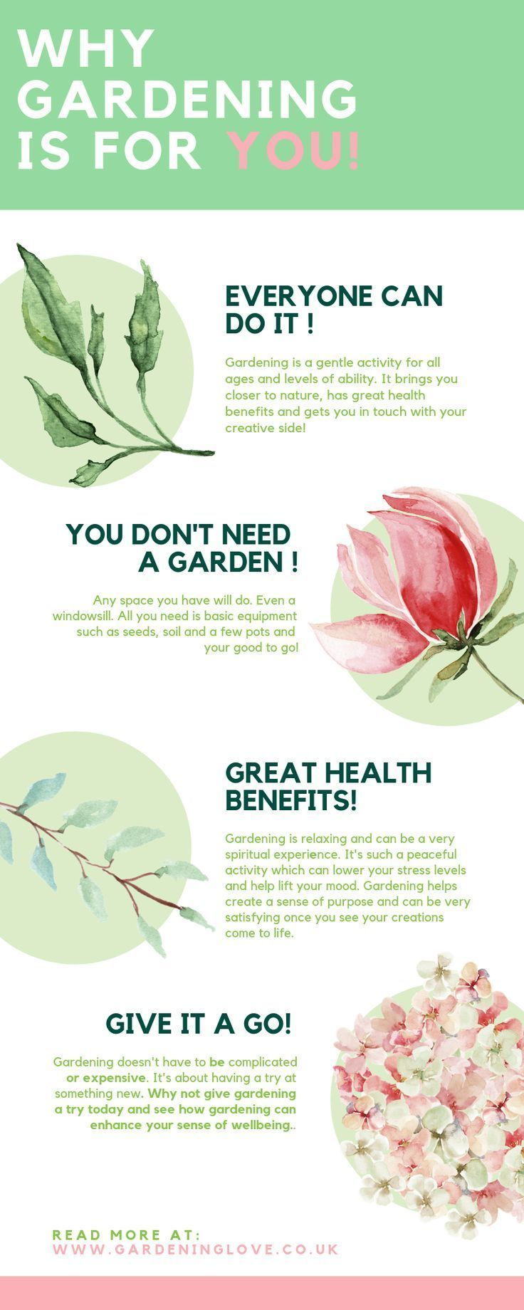 Gardening is for everyone! All ages and abilities will benefit from gardening ac...