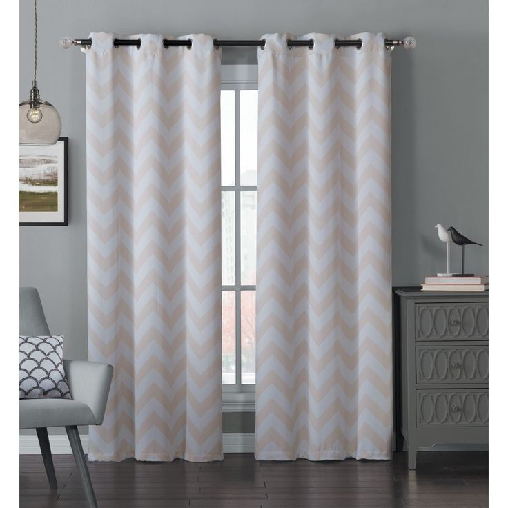 Best 25+ Grey Chevron Curtains Ideas On Pinterest
