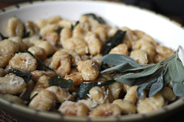 Gnocchi W/Butter & Sage Sauce Recipes — Dishmaps