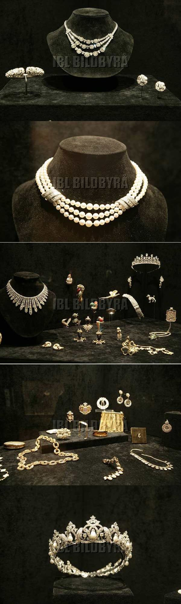 Exhibit of jewelry belonging to HSH Princess Grace of Monaco