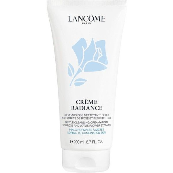 Women's Lancome 'Creme Radiance' Clarifying Cleanser ($37) ❤ liked on Polyvore featuring beauty products, skincare, face care, face cleansers, no color, foaming facial cleanser, lancome face wash, lancôme, foaming face cleanser and lancome facial cleanser
