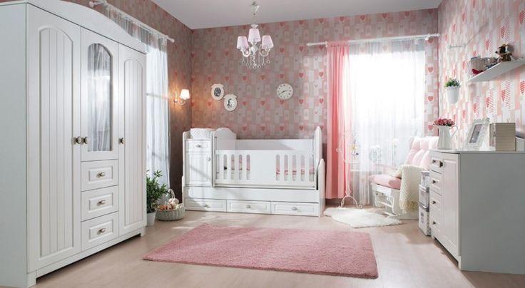 Βρεφικό Δωμάτιο Melisa(MDF-ΛΑΚΑ)