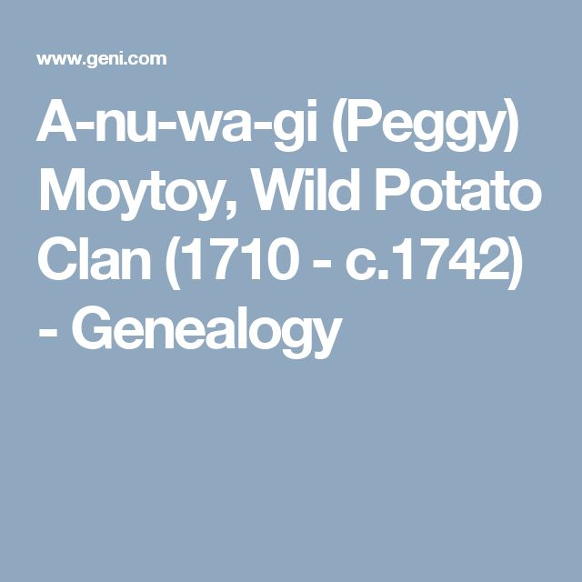 Moytoy Genealogy