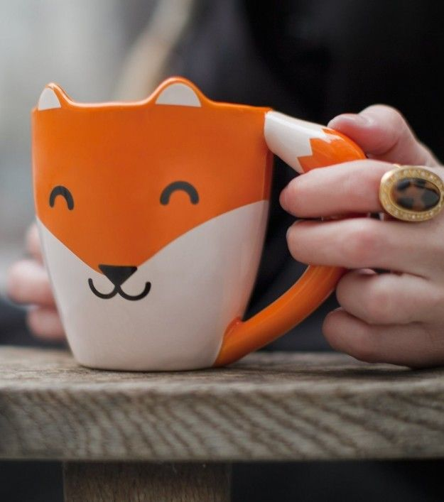 21 Awesome Products From Amazon To Put On Your Wish List, like this adorable fox mug.
