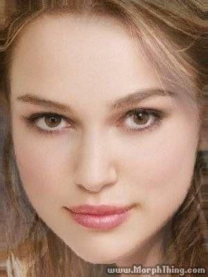 Keira Knightley, Natalie Portman, Miley Cyrus (Morphed) - MorphThing.com