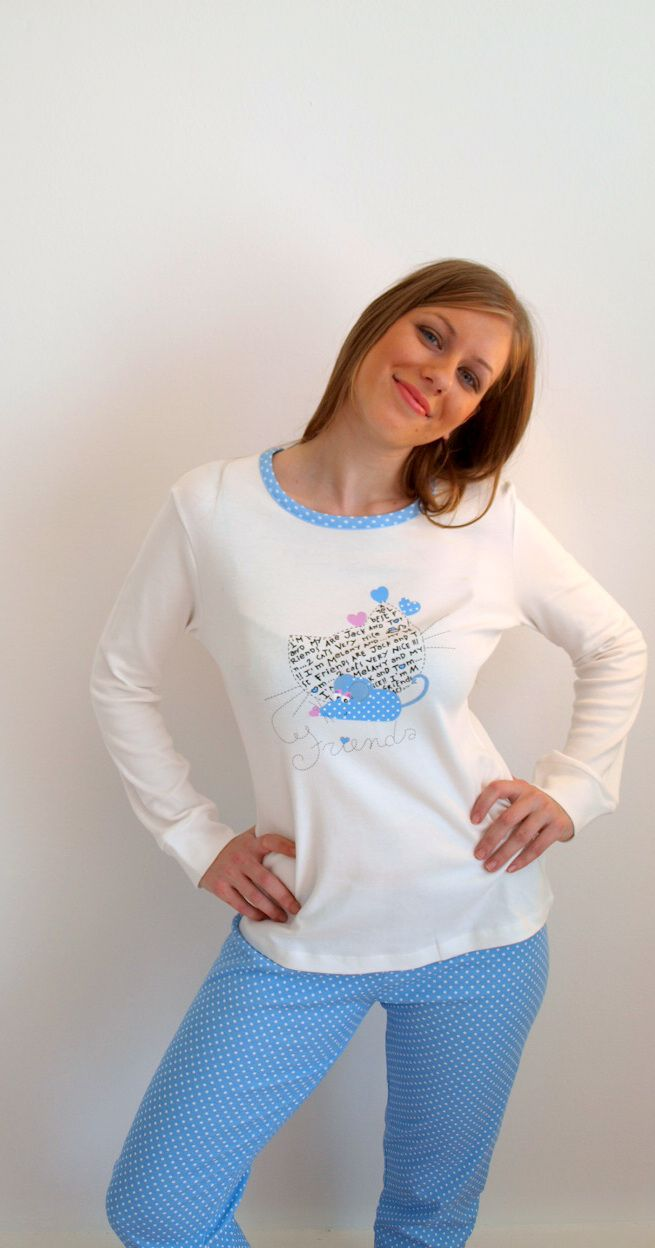 cute mouse in blue  http://lutecia.gr/Sleepwear?product_id=509