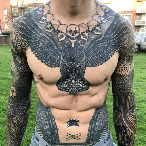 101 Best Breast Tattoos for Men: Cool Ideas + Designs (Guide 2019