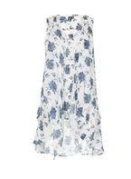 Womens *Izabel London Multi Coloured Tie-Up Detail Top- White