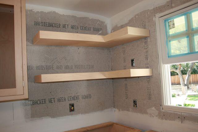 Image Result For L Shaped Floating Wall Shelves