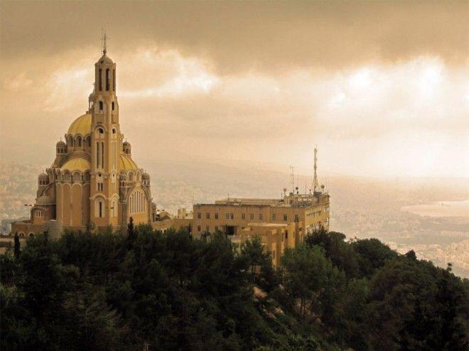 Greek Catholic Basilica of Saint Paul, Harissa, Lebanon | 1,000,000 Places