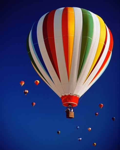 Win Mega Prize Take Ride In Hot Air Balloon