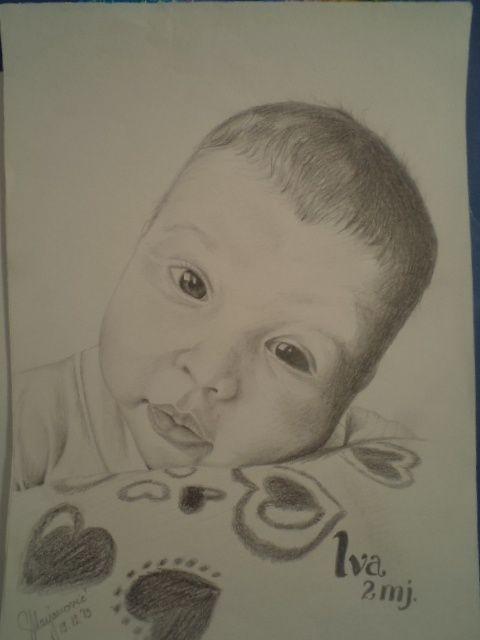 my drawing... it is my little girl...