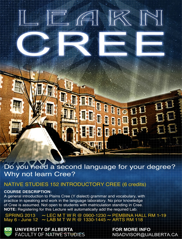 Learn Cree Online