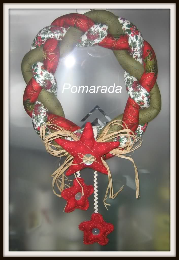 Best 25 patchwork navidad ideas on pinterest christmas for Coronas de navidad