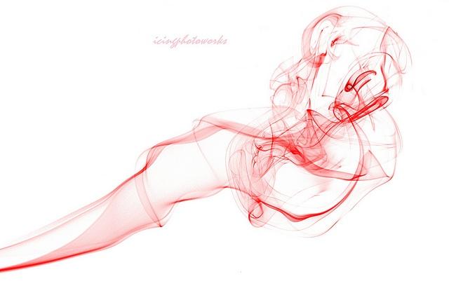 smokin in red, via Flickr.
