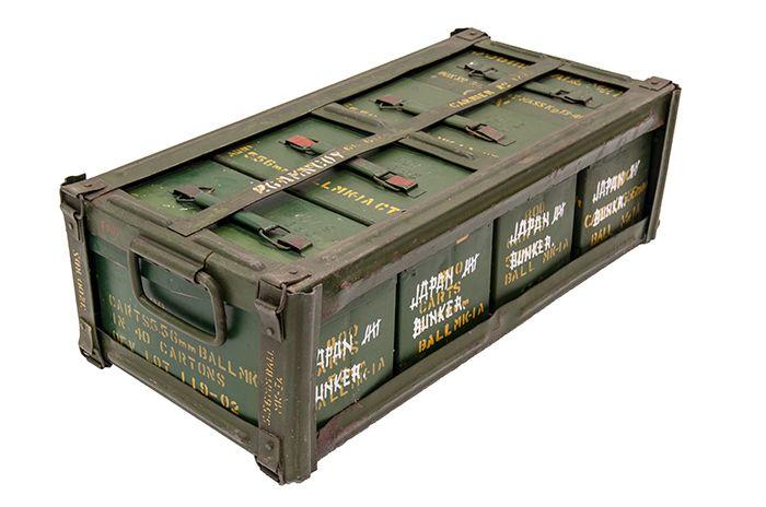 Fotos. Antigüedades. Cajas de munición militar.