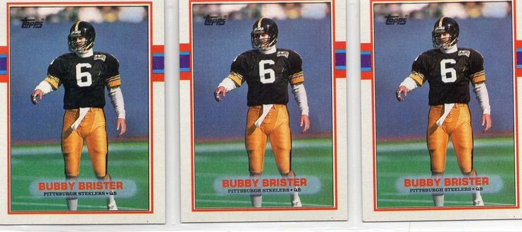 1989 topps 315 bubby brister rc lot 3 cards from $1.25
