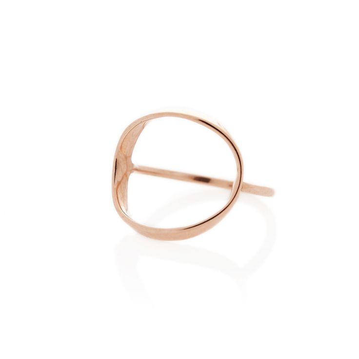 Rose Gold Zwei ring | Dear Rae | Online shop