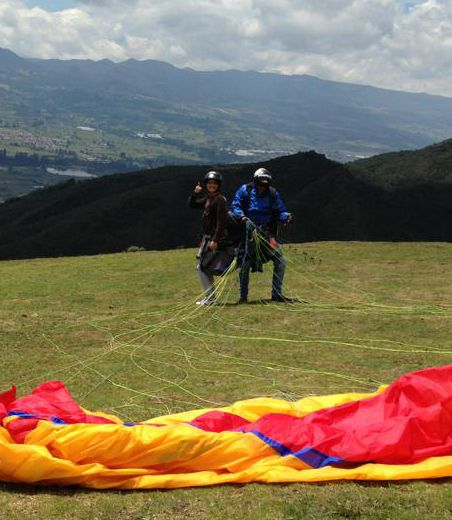 Parapente, colombia