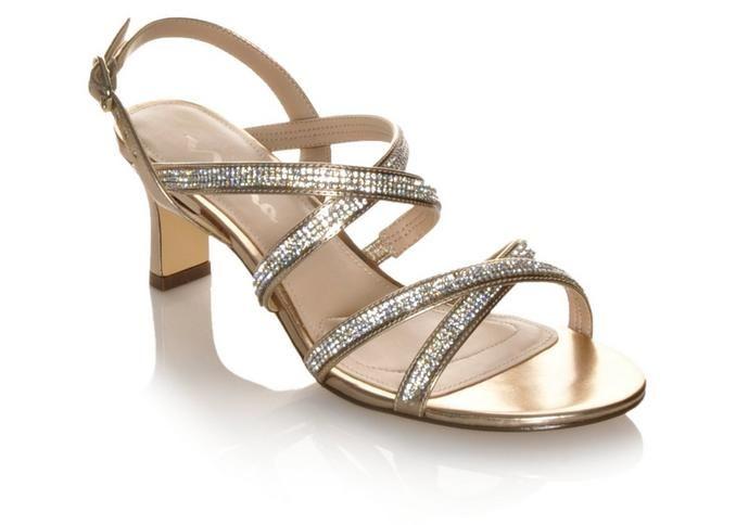 Women's Touch Of Nina Nadelie Silver   Shoe Carnival