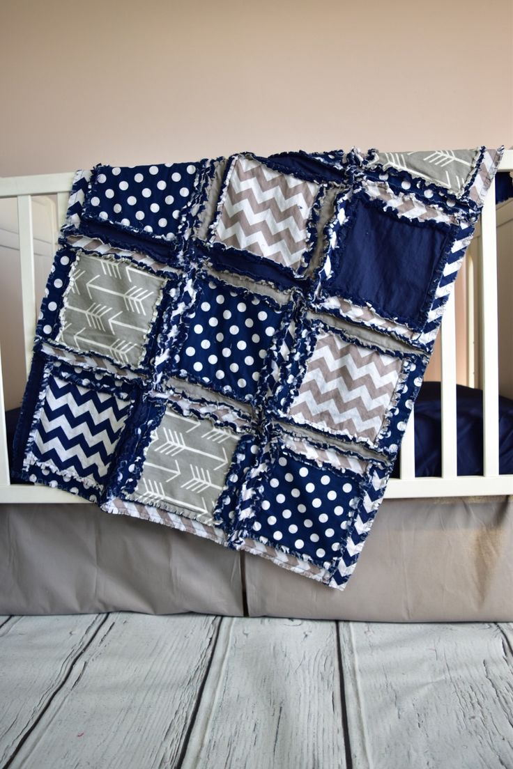 Crib bedding set gray white navy blue with by butterbeansboutique - Custom Tribal Crib Bedding In Gray Navy Blue With Chevron Solid And Arrow