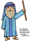 Great site for crafts to go with Bible stories!