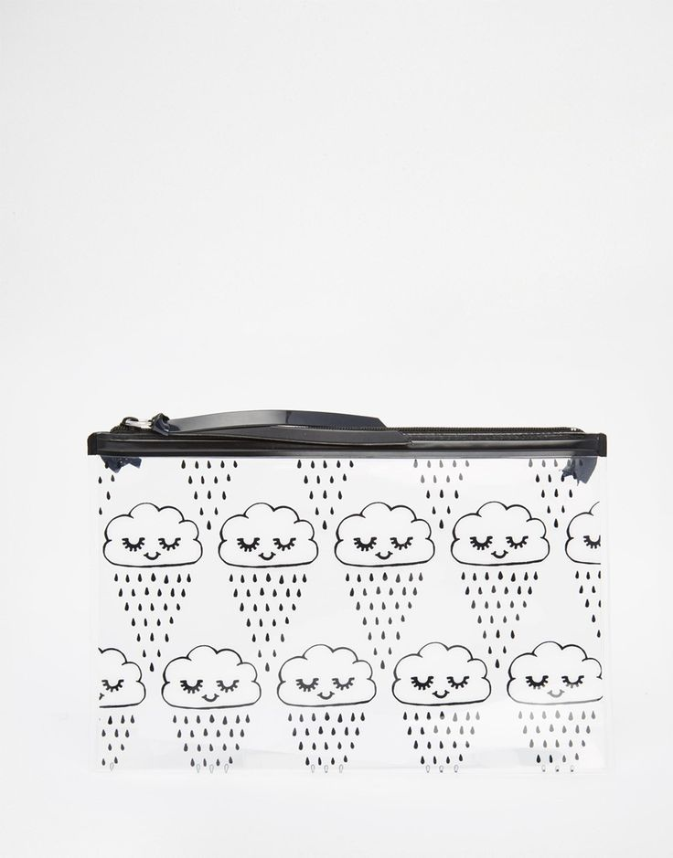Monki Zip Pocket Pouch