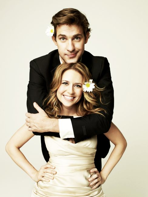 Jim and Pam Halpert, cannot get enough of them! #TheOffice