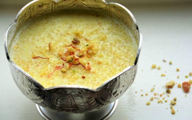 Quinoa Phirnee Recipe (Quinoa Milk Pudding)
