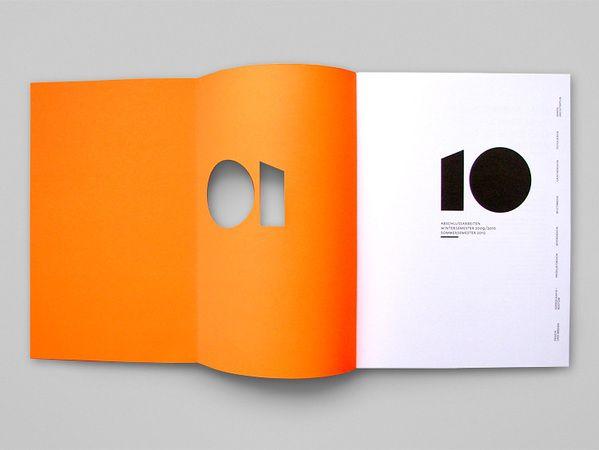 yearbook 10 by britta siegmund via behance network #diecut #10 #orange #yearbook #behance #BrittaSiegmund: Yearbooks Behance, Books Design, Yearbooks 10, Booklet Design, Behance Brittasiegmund, 10 Orange, Behance Network, Book Design, Orange Yearbooks