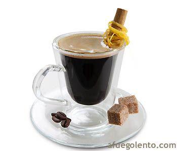 Hoy la comida finaliza con un reconfortante café aromatizado con brandy