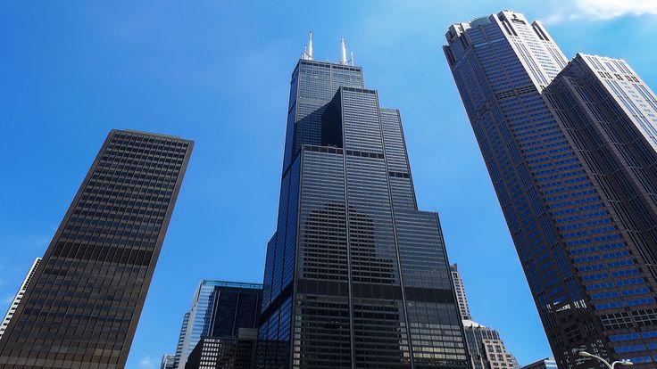 La Willis Tower, l'une des plus hautes tours des États-Unis