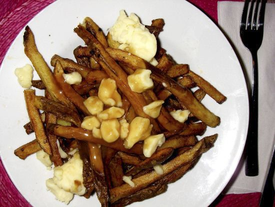 Poutine - almost a national dish. 145 Weird, Fun and Interesting Facts About Canada