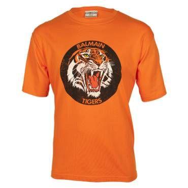 Balmain Tigers Classic Retro T-Shirt - Fangear.com