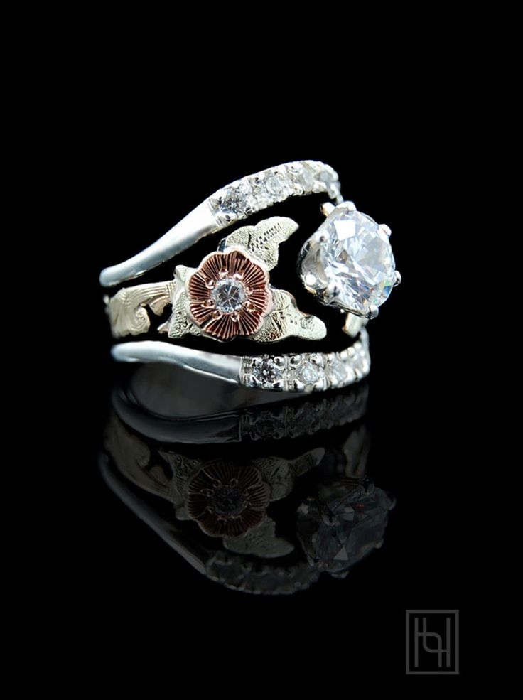 51 Best Images About Western Wedding Rings On Pinterest | Artisan Jewelry Wedding Ring And ...