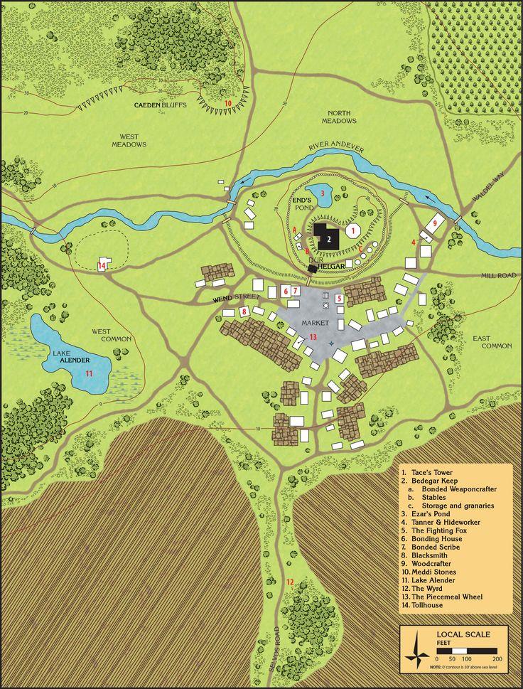 Bedegar Keep map by Matt Colville 1667
