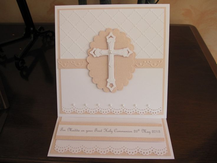 First holy communion by michele g cards and paper crafts for First communion craft ideas