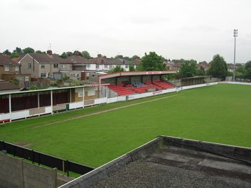 Earlsmead Stadium, home of Harrow Borough