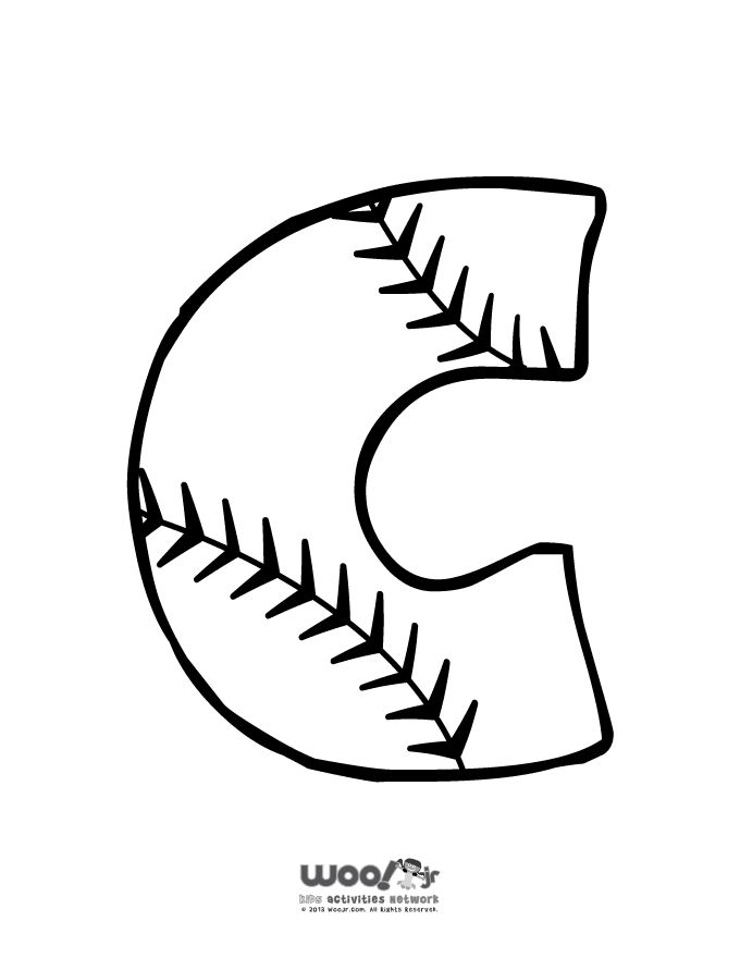 32 Best Baseball Coloring Pages Images