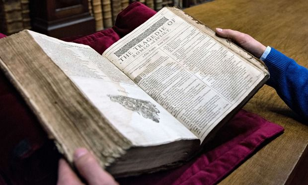 "The First Folio found in Saint-Omer library A rare and valuable William Shakespeare First Folio has been discovered in a provincial town in France.  The book – one of only 230 believed to still exist - had lain undisturbed in the library at Saint-Omer in the north of France for 200 years.  Medieval literature expert Rémy Cordonnier was searching for books to use in a planned exhibition of ""Anglo-Saxon"" authors when he stumbled across the 1623 tome in September."