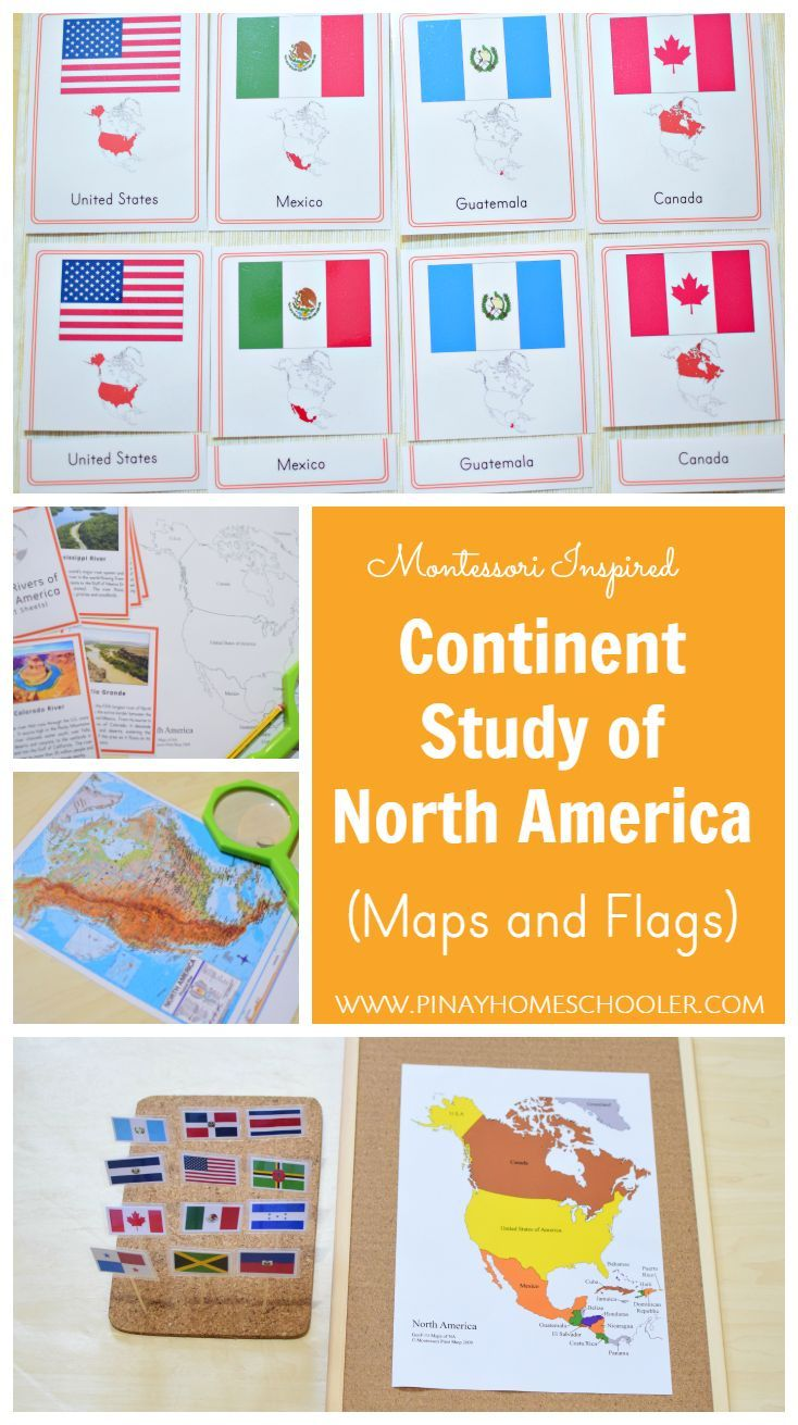 Montessori-inspired North America Activities.
