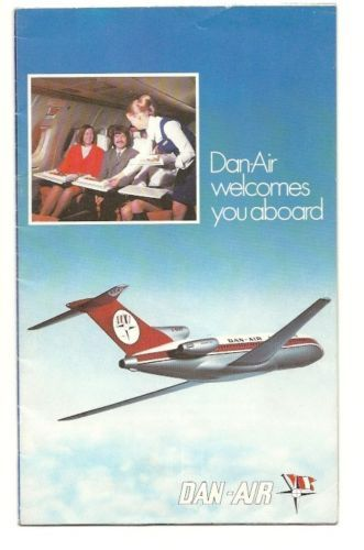 Dan Air Welcome Aboard