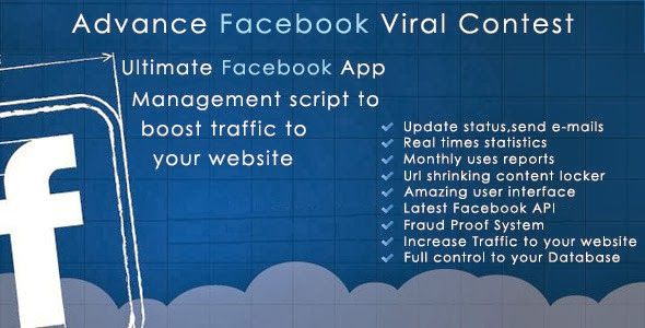 Advance Facebook Viral Contest Application | CodeSpira