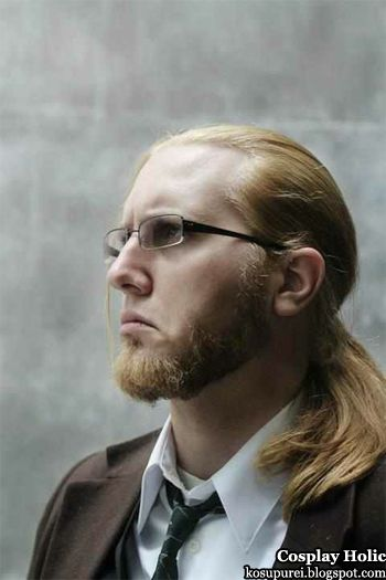 "Van Hohenheim from ""Full Metal Alchemist"". God, I love cosplays of lesser known characters (although YMMV here). Not to mention this one's pretty spot on!"