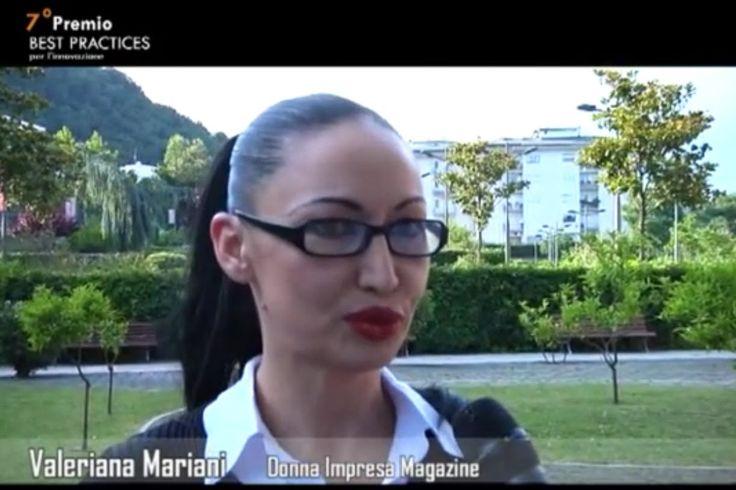 PREMIO BEST PRACTICES -  INTERVISTA A VALERIANA MARIANI E BRUNO BALDASSARRI